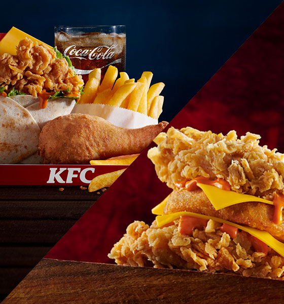 kfc meals and drink