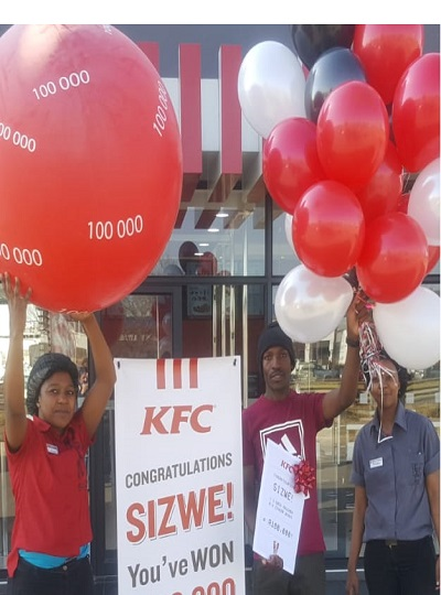 kfc competition winner