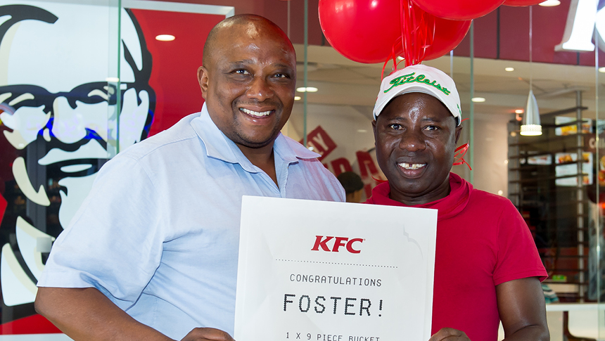 kfc rewards winner