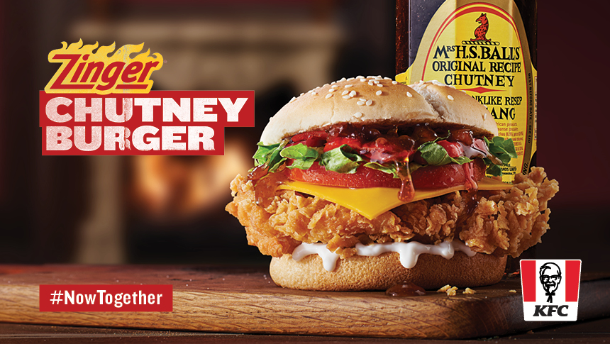 KFC's Colonel and Mrs. Ball's Chutney Are in the Throes of One Fiery and Sweet Love Saga