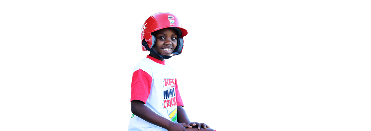 kfc mini cricket player