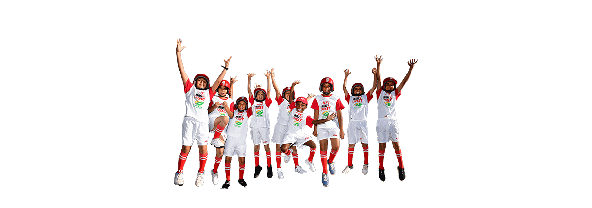 kfc mini cricket team